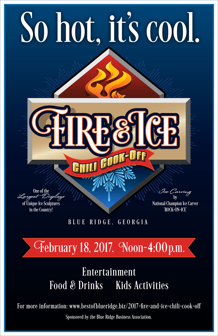 8th Annual Fire Ice Chili Cook Off